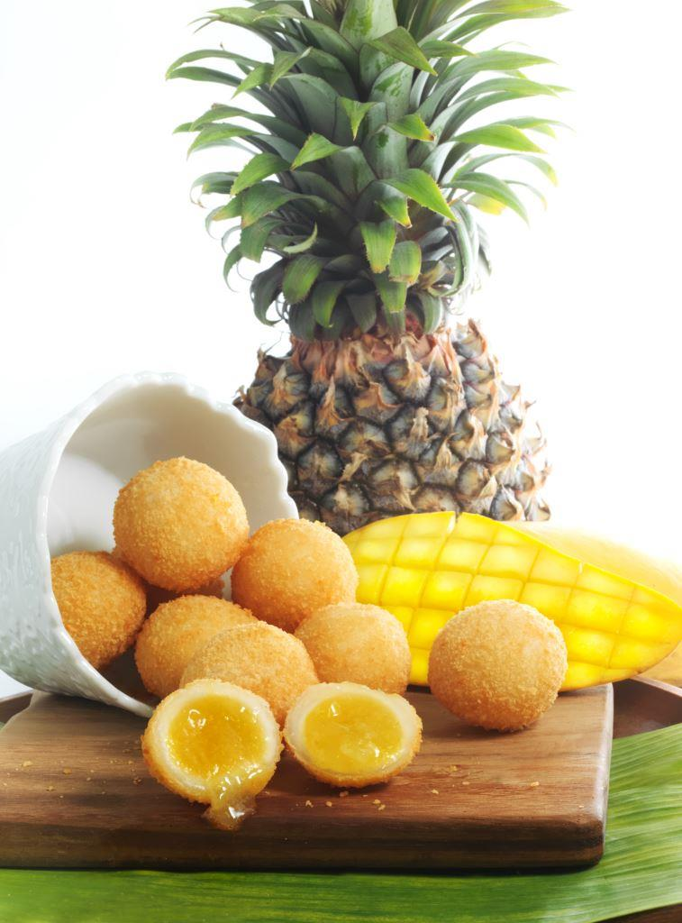 Tropical Fruit Ball
